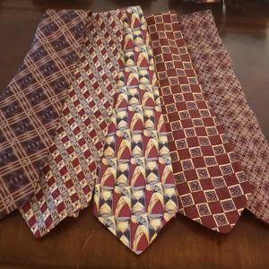 Vintage100% Silk Ties